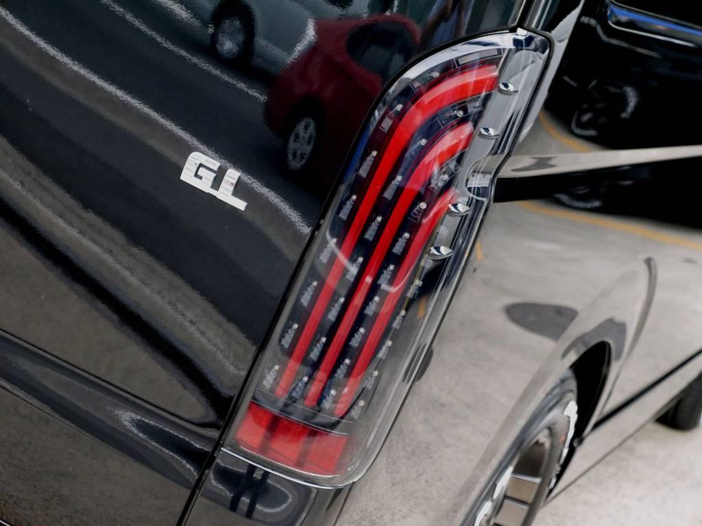 415COBRA BADテールをセット!! | トヨタ ハイエース 2.7 GL ロング ミドルルーフ R1トリプルナビパッケージ