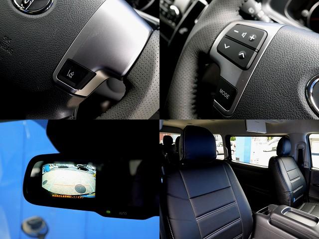 現行モデルは装備が充実!! ブラックレザー調シートカバーで高級感を演出!! | トヨタ ハイエース 2.7 GL ロング ミドルルーフ R1トリプルナビパッケージ