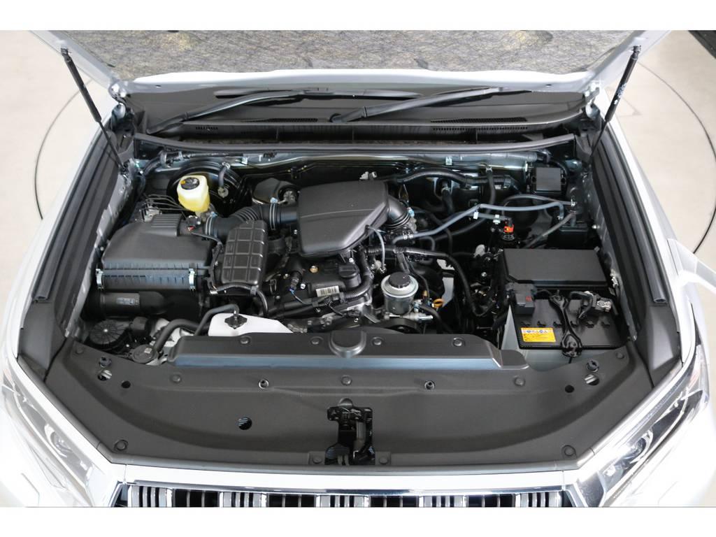 2700ccのガソリンエンジン!トヨタさんの自信のある2700ccは色んな車種や長い期間使っているエンジンです!