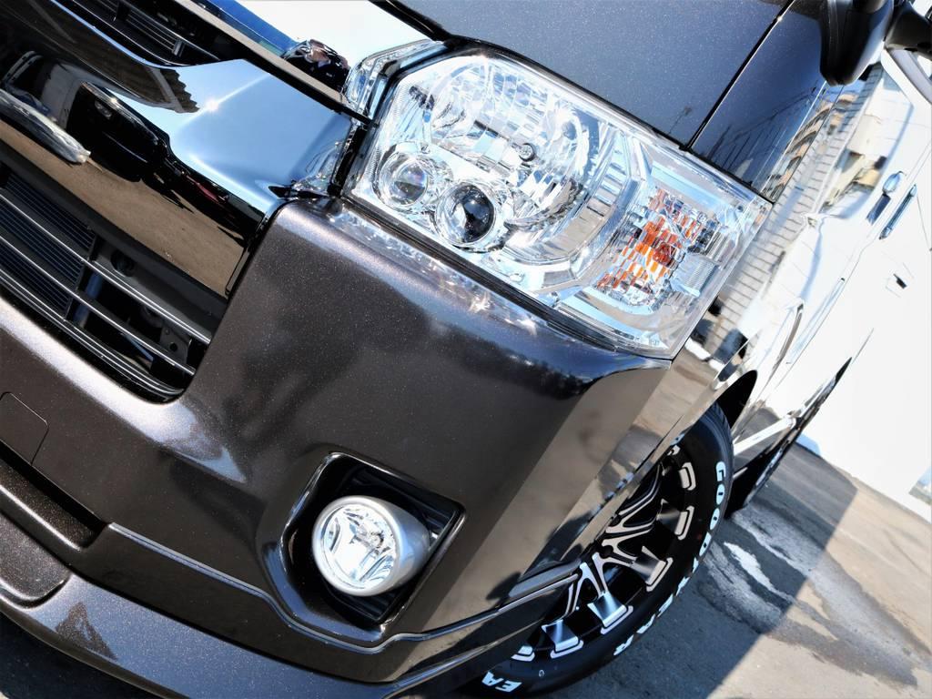 メーカーオプション「LEDヘッドライト」! | トヨタ ハイエースバン 2.7 スーパーGL 50THアニバーサリー リミテッド ワイド ミドルルーフ ロングボディ4WD 内装VER4