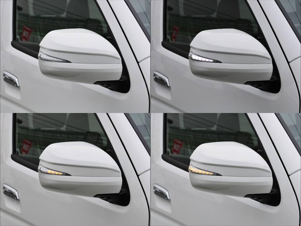 AVESTウィンカミラー!ウィンカー部分が流れます! | トヨタ ハイエースバン 2.8 スーパーGL ダークプライムⅡ ロングボディ ディーゼルターボ BAD FACEカスタム