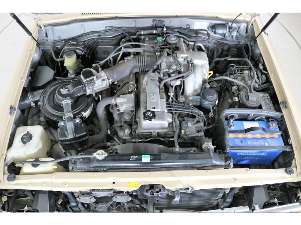 店舗敷地内に工場完備ですので車検から整備までお任せください。 | トヨタ ランドクルーザー80 4.5 VXリミテッド 4WD 丸目 60フェイス
