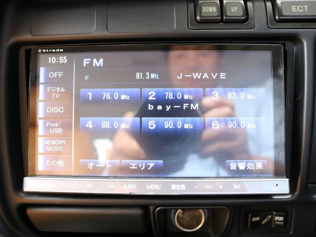 フルセグ対応SDナビも装着済み! | トヨタ ランドクルーザー80 4.5 VXリミテッド 4WD 丸目 60フェイス