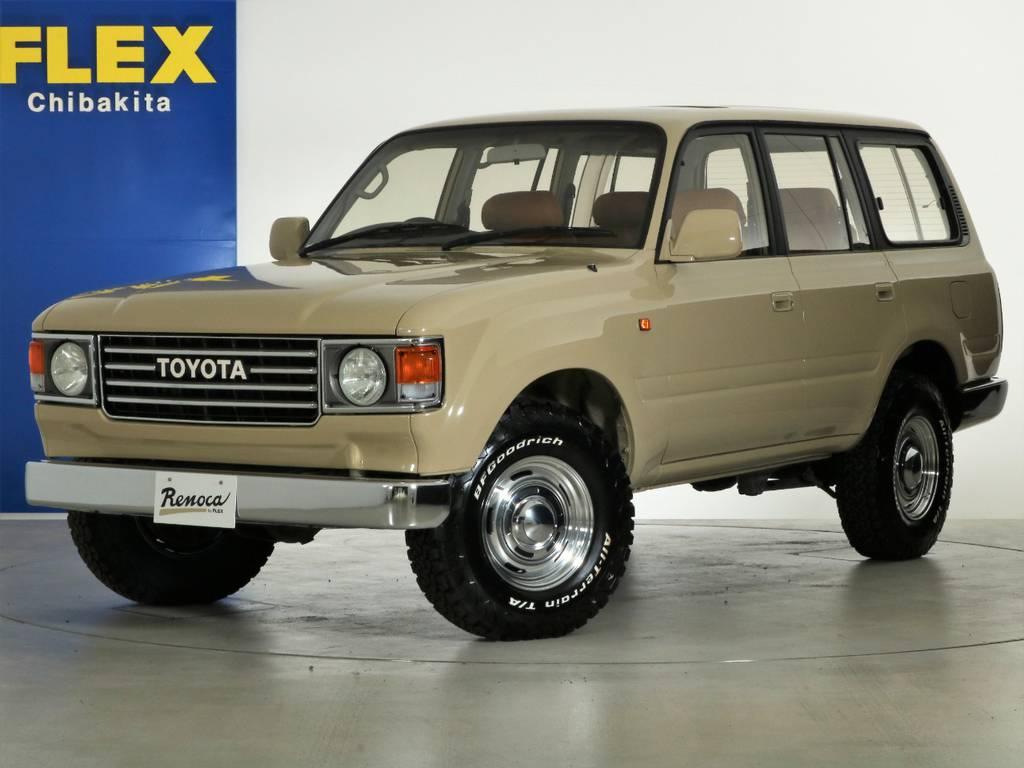 FLEXオリジナル丸目換装『86』 | トヨタ ランドクルーザー80 4.5 VXリミテッド 4WD 丸目 60フェイス