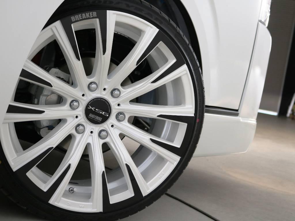 マッドクロスブレイカー XS6 20インチアルミホイール♪ | トヨタ ハイエース 2.7 GL ロング ミドルルーフ 内装アレンジVer2