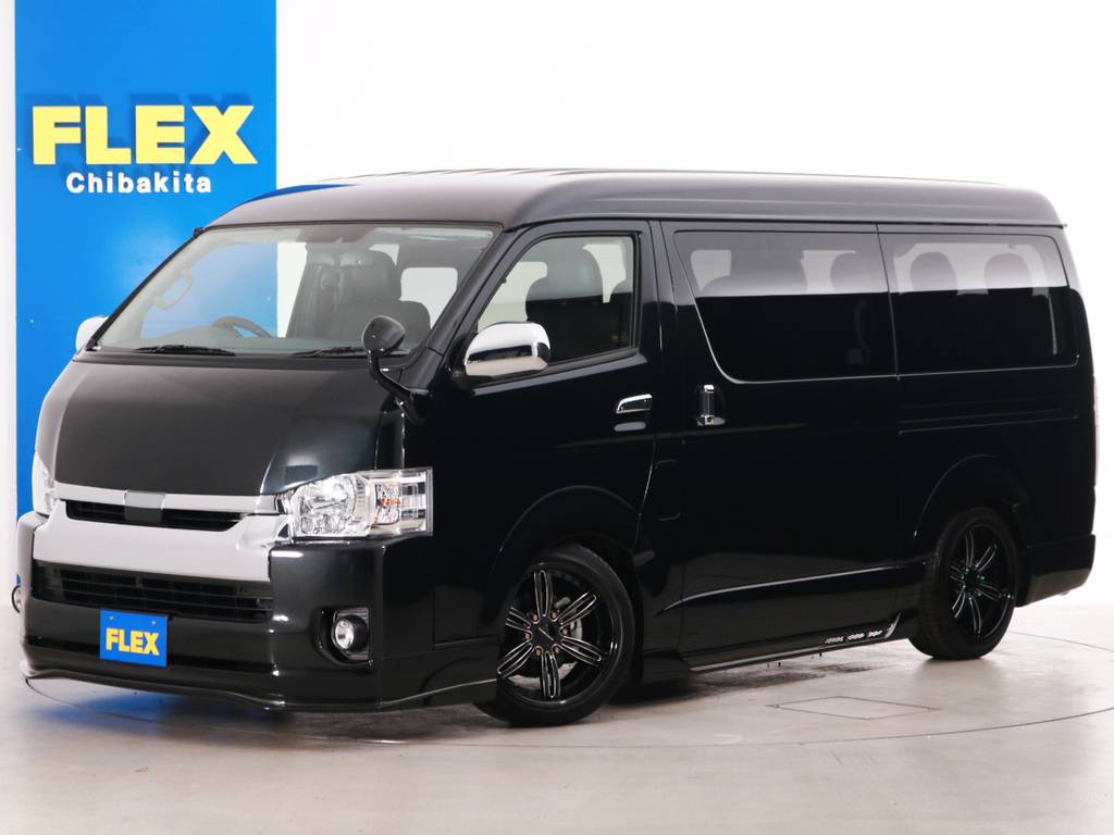 新車未登録 ハイエースワゴンGL 415コブラ フルエアロ FLEXオリジナル内装アレンジ【Ver2】!