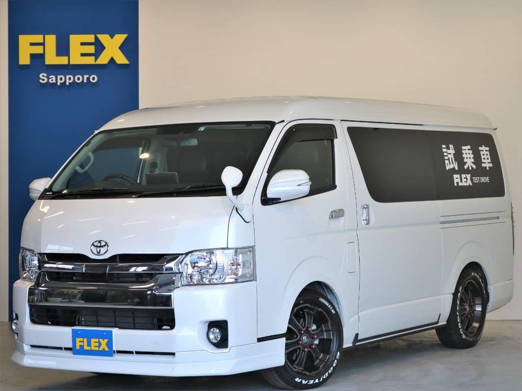 FLEX SAPPORO TEST DRIVE CAR