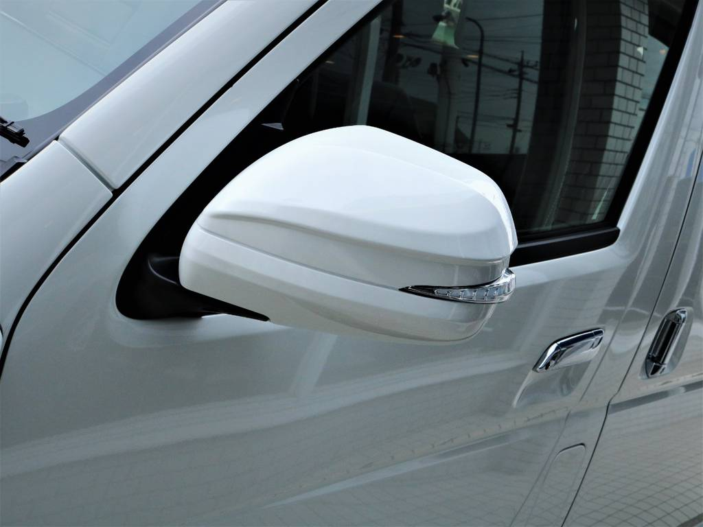 アベスト製LEDドアミラー!   トヨタ ハイエース 2.7 GL ロング ミドルルーフ 4WD アレンジR1