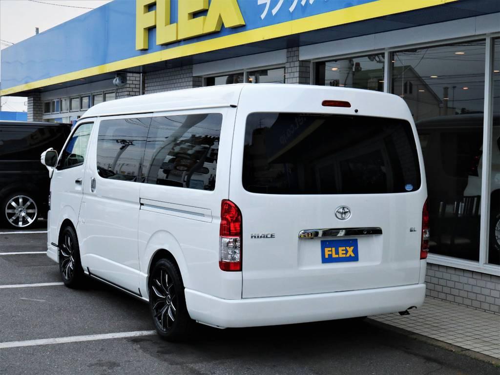 茨城県最大級のハイエース専門店!新車から中古車までラインナップ!   トヨタ ハイエース 2.7 GL ロング ミドルルーフ 4WD アレンジR1