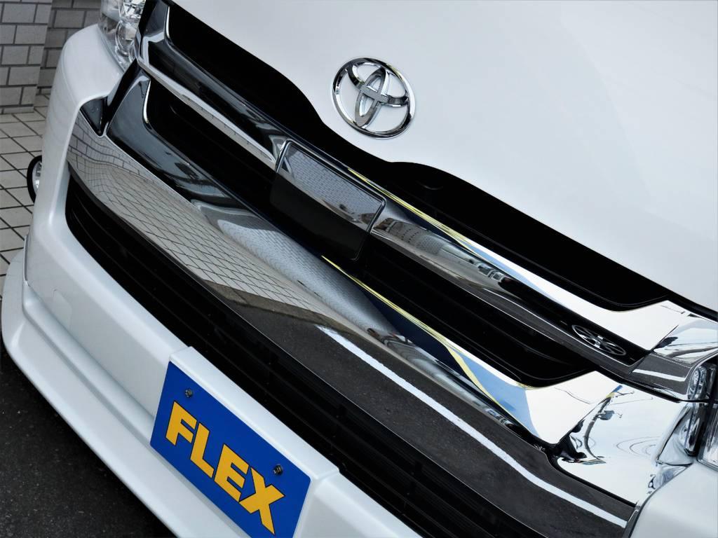 トヨタセーフティーセンス付き!   トヨタ ハイエース 2.7 GL ロング ミドルルーフ 4WD アレンジR1