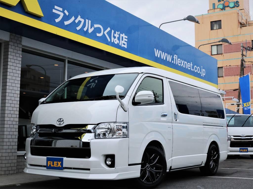 新車ハイエースW「GL」10人乗り4WDガソリン車!内装アレンジR1が完成致しました♪   トヨタ ハイエース 2.7 GL ロング ミドルルーフ 4WD アレンジR1