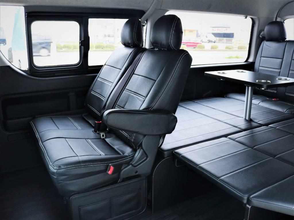 セカンドシート! | トヨタ ハイエース 2.7 GL ロング ミドルルーフ 4WD アレンジR1