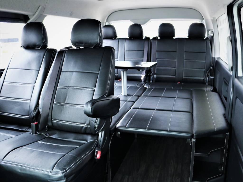 FLEXオリジナル内装アレンジR1が完成! | トヨタ ハイエース 2.7 GL ロング ミドルルーフ 4WD アレンジR1