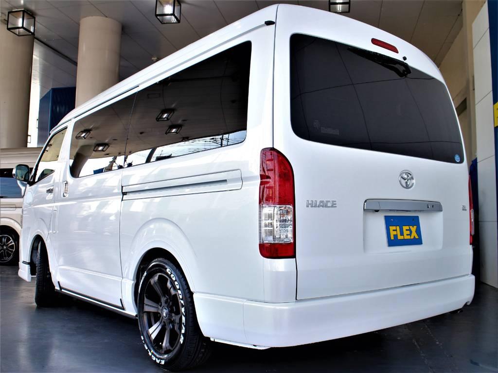 1.15インチローダウン! | トヨタ ハイエース 2.7 GL ロング ミドルルーフ 4WD アレンジR1内装架装車両