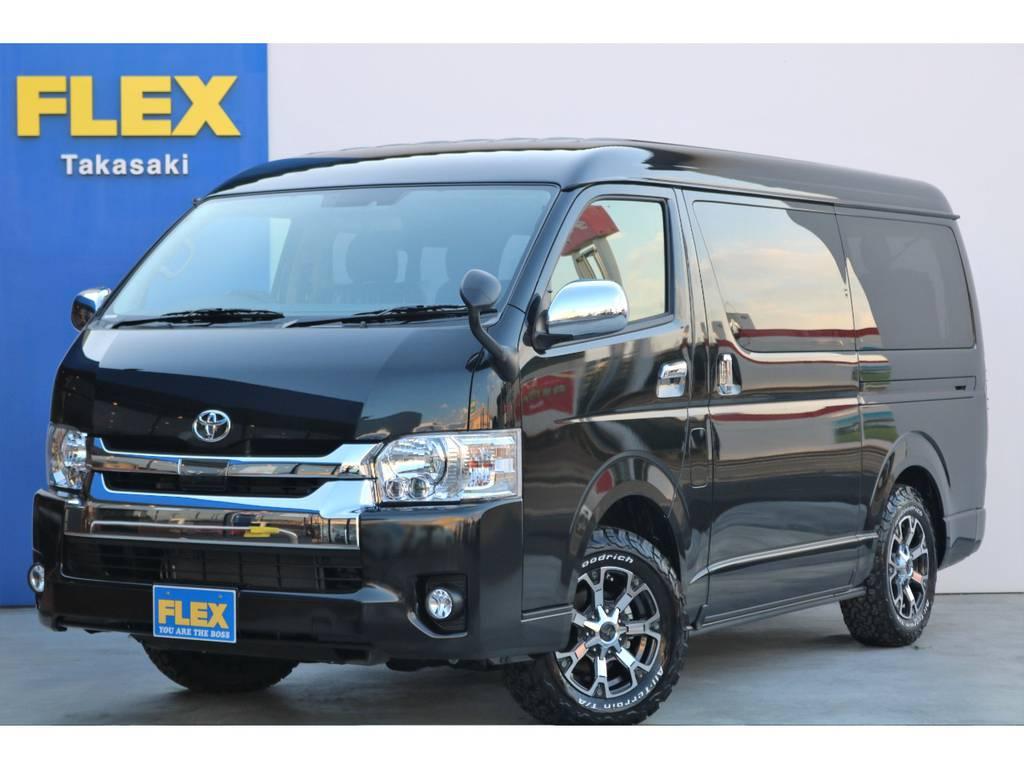 新車 ハイエース ワゴンGL 4WD FLEXオリジナル内装レイアウトR1 | トヨタ ハイエース 2.7 GL ロング ミドルルーフ 4WD アレンジR1
