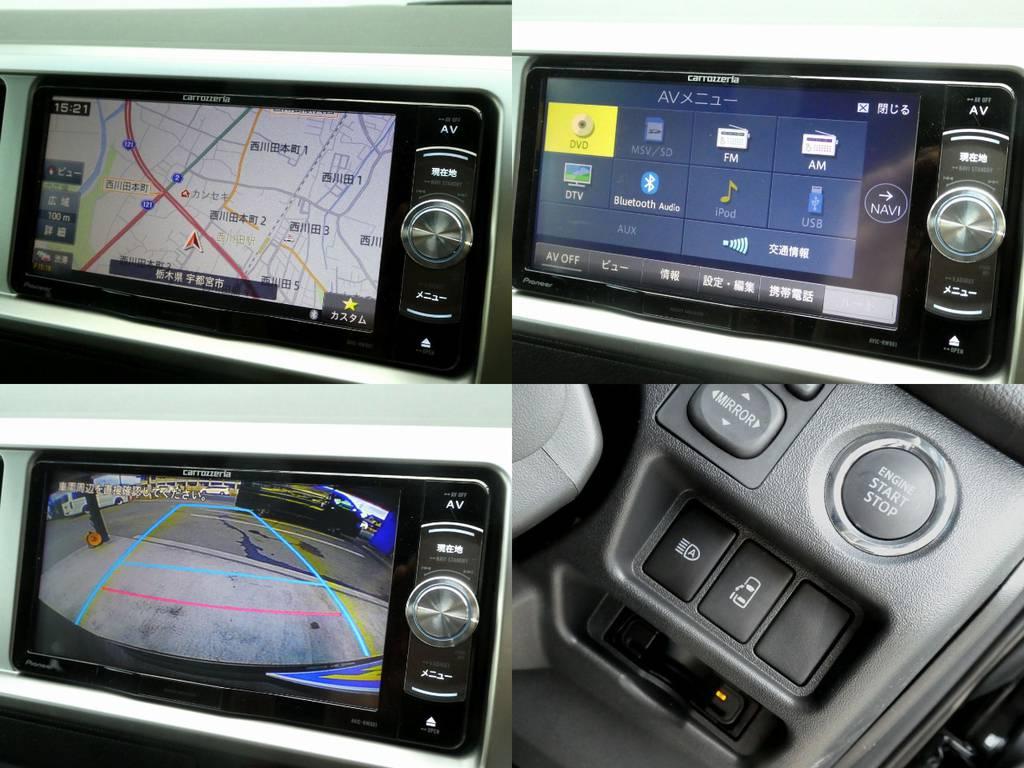 カロッツェリアSDナビ フルセグTV バックカメラ画像転送施工 ETC完備 | トヨタ ハイエース 2.7 GL ロング ミドルルーフ 4WD 内装架装 アレンジAS