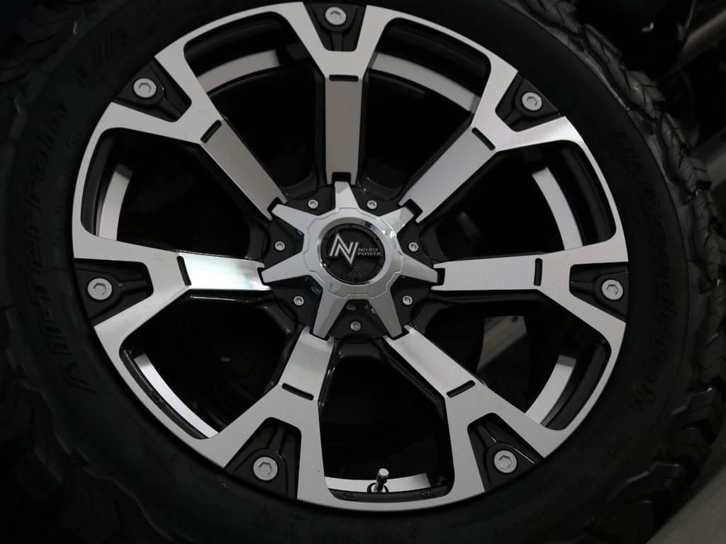 ナイトロパワー20インチAWを新品装着! | トヨタ ハイラックス 2.4 Z ディーゼルターボ 4WD Z 新車未登録車 11インチナビ