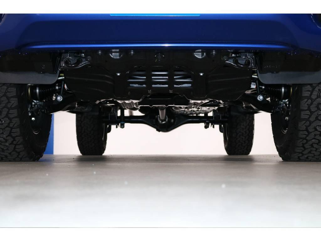 下回りも新車ですのでもちろんGOODコンディションです! | トヨタ ハイラックス 2.4 Z ディーゼルターボ 4WD Z 新車未登録車 11インチナビ