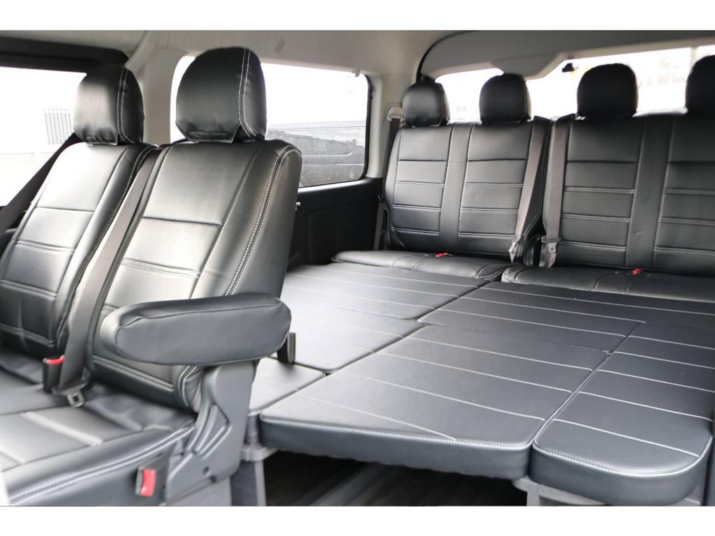 人気の内装架装の入庫です♪ | トヨタ ハイエース 2.7 GL ロング ミドルルーフ 4WD フレックスオリジナル内装架装Ver1