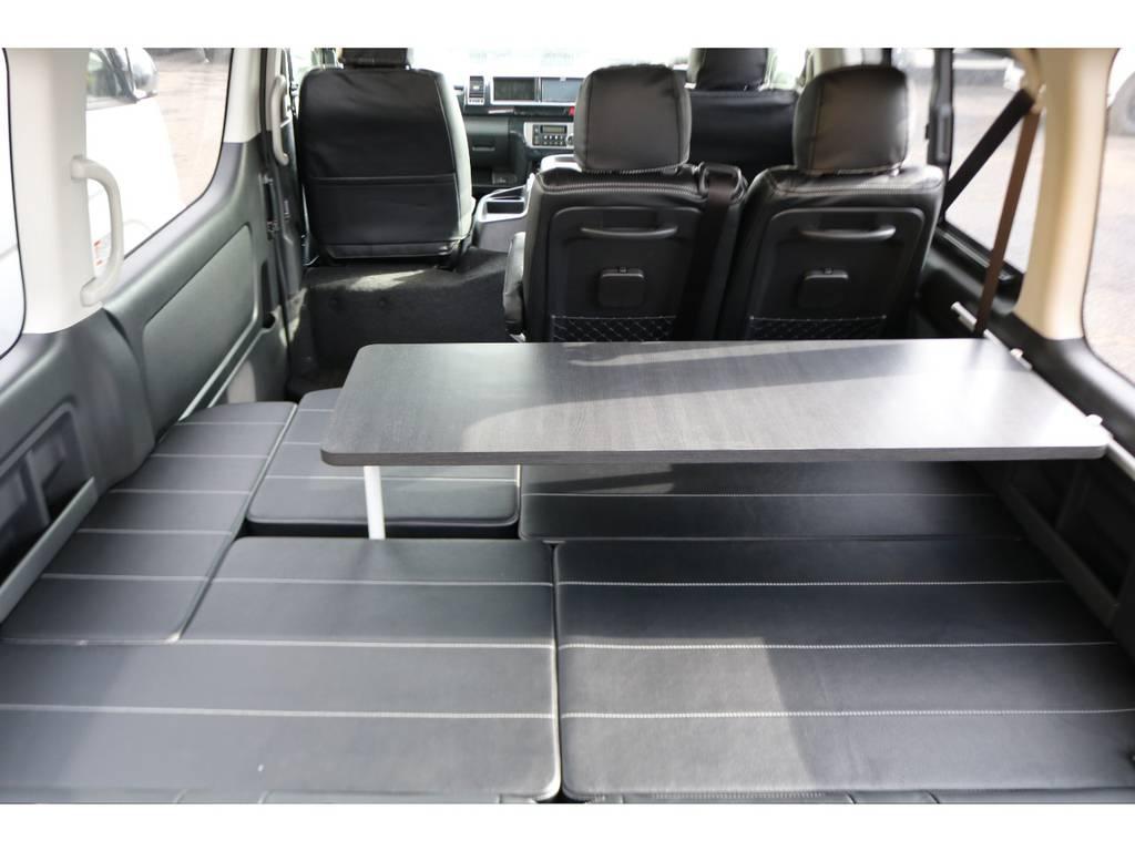 是非ご覧ください! | トヨタ ハイエース 2.7 GL ロング ミドルルーフ 4WD フレックスオリジナル内装架装Ver1