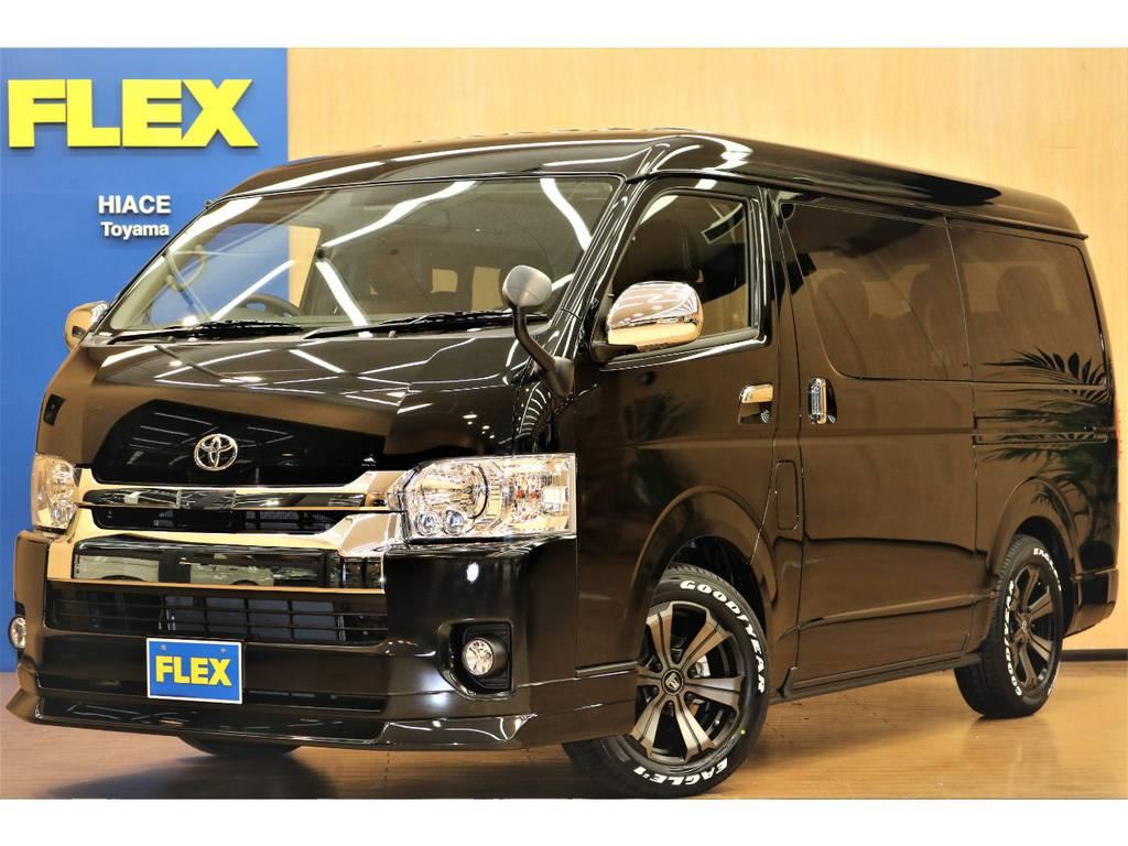 【新車未登録】ハイエースワゴンGL 4WD フレックスオリジナル内装架装ver1の入庫です♪ | トヨタ ハイエース 2.7 GL ロング ミドルルーフ 4WD フレックスオリジナル内装架装Ver1