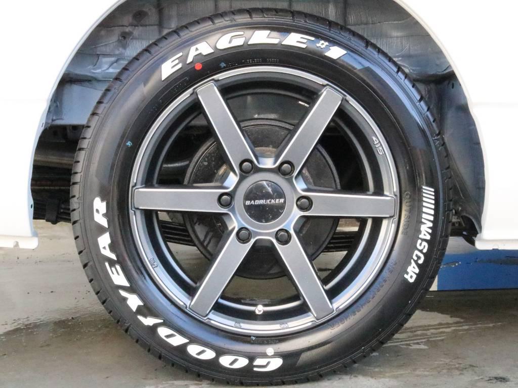 415コブラ17インチアルミ!! | トヨタ ハイエース 2.7 GL ロング ミドルルーフ 4WD TSS付 ARRANGE R1