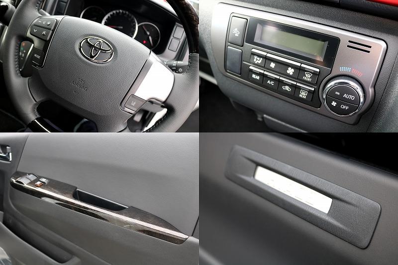 各部に特別仕様車専用袈飾が施されております!!   トヨタ ハイエースバン 2.8 スーパーGL ダークプライムⅡ ロングボディ ディーゼルターボ カスタムPKG