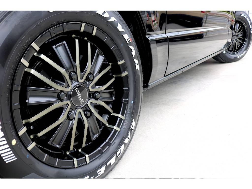 迫力あるサイドライン!! | トヨタ ハイエースバン 2.8 スーパーGL ダークプライムⅡ ロングボディ ディーゼルターボ ナビパッケージ