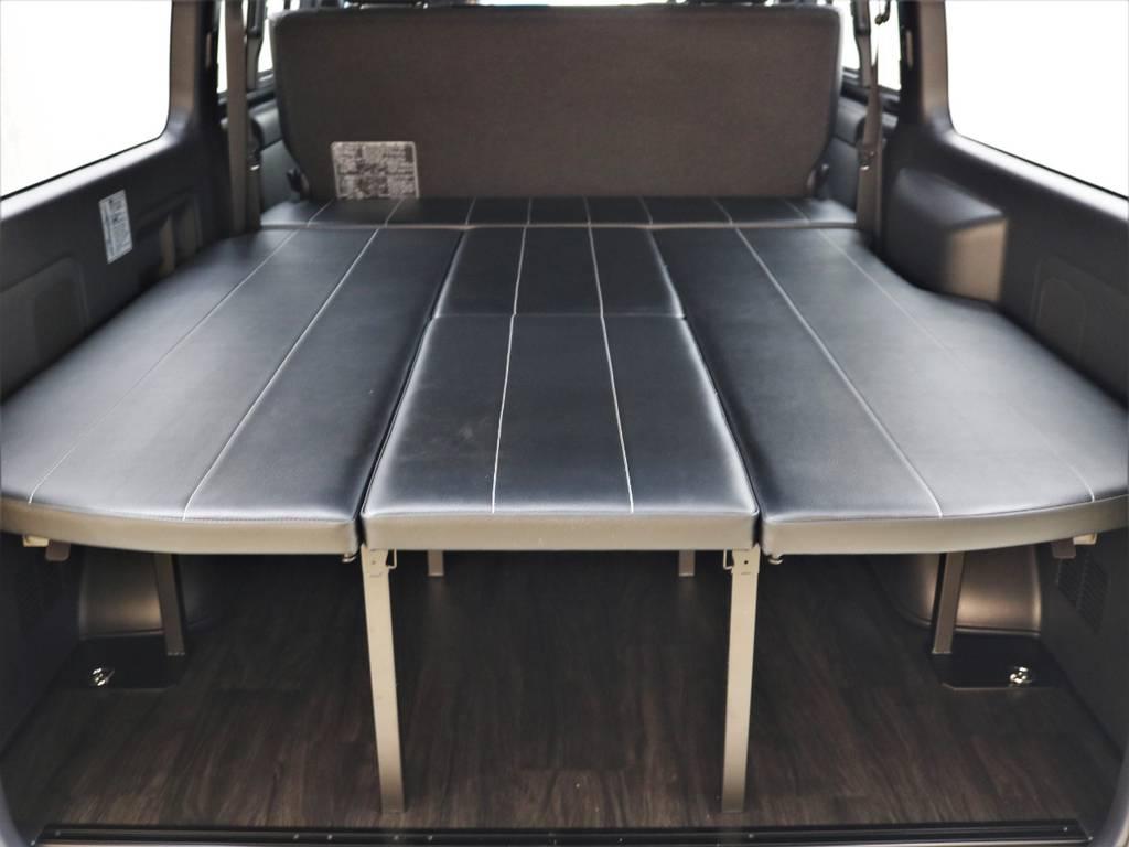 FLEXアレンジFU-N! | トヨタ ハイエースバン 2.8 スーパーGL ダークプライムⅡ ロングボディ ディーゼルターボ 4WD FLEXアレンジFU-N OPスライド