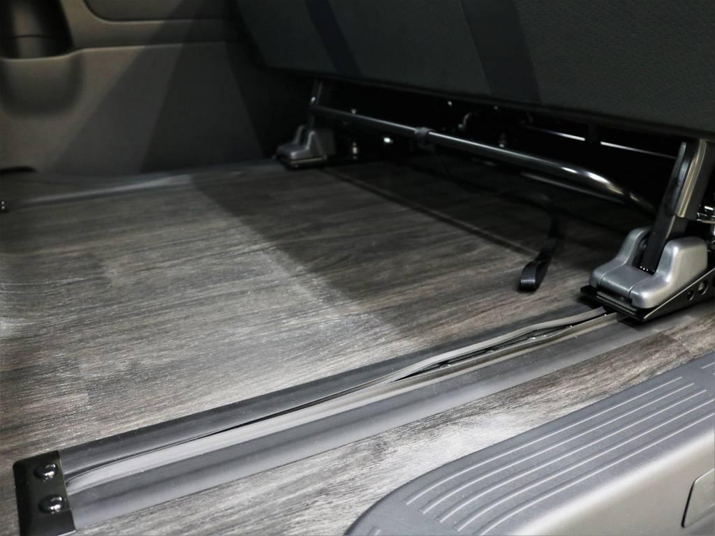 実用性抜群! | トヨタ ハイエースバン 2.8 スーパーGL ダークプライムⅡ ロングボディ ディーゼルターボ 4WD FLEXアレンジFU-N OPスライド