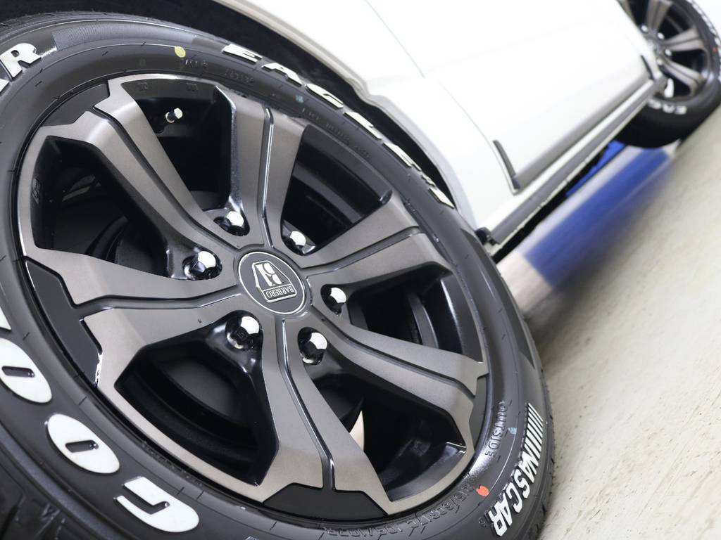 FLEXオリジナルカラーバルベロアーバングランデ&ナスカータイヤ! | トヨタ ハイエースバン 2.8 スーパーGL ダークプライムⅡ ロングボディ ディーゼルターボ 4WD FLEXアレンジFU-N OPスライド