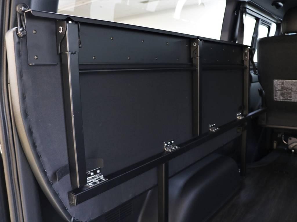 使いやすく便利なアレンジFU-N! | トヨタ ハイエースバン 2.8 スーパーGL ダークプライムⅡ ロングボディ ディーゼルターボ 4WD FLEXアレンジFU-N OPスライド