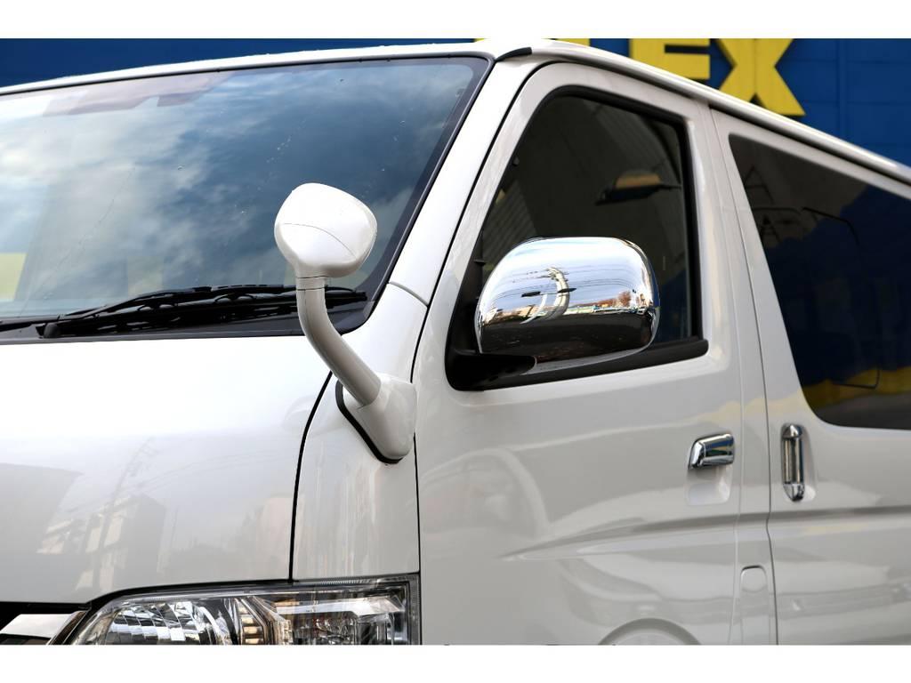 アンダミラーボディー施工!   トヨタ ハイエースバン 2.8 スーパーGL ダークプライムⅡ ロングボディ ディーゼルターボ 4WD PS無オフロードスタイル