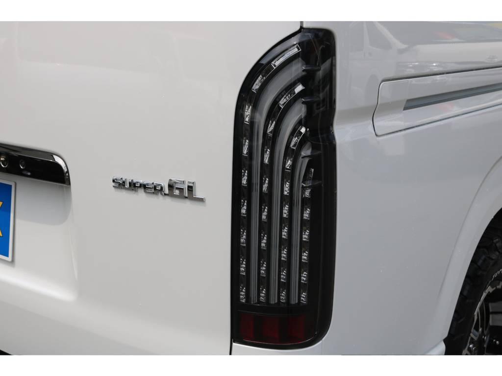 FLEX煌LEDテール!   トヨタ ハイエースバン 2.8 スーパーGL ダークプライムⅡ ロングボディ ディーゼルターボ 4WD PS無オフロードスタイル