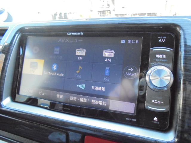 カロッツェリアSDナビ!フルセグTV!   トヨタ ハイエースバン 2.8 スーパーGL ダークプライムⅡ ロングボディ ディーゼルターボ 4WD PS無オフロードスタイル