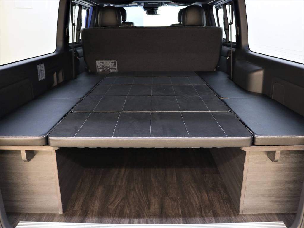 FLEXオリジナル内装架装Ver4! | トヨタ ハイエースバン 2.8 スーパーGL ダークプライムⅡ ロングボディ ディーゼルターボ 4WD FLEX Ver4 バトルシップⅡ