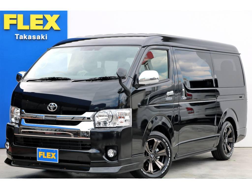 新車 ハイエース ワゴンGL 4WD トリプルモニターPKG