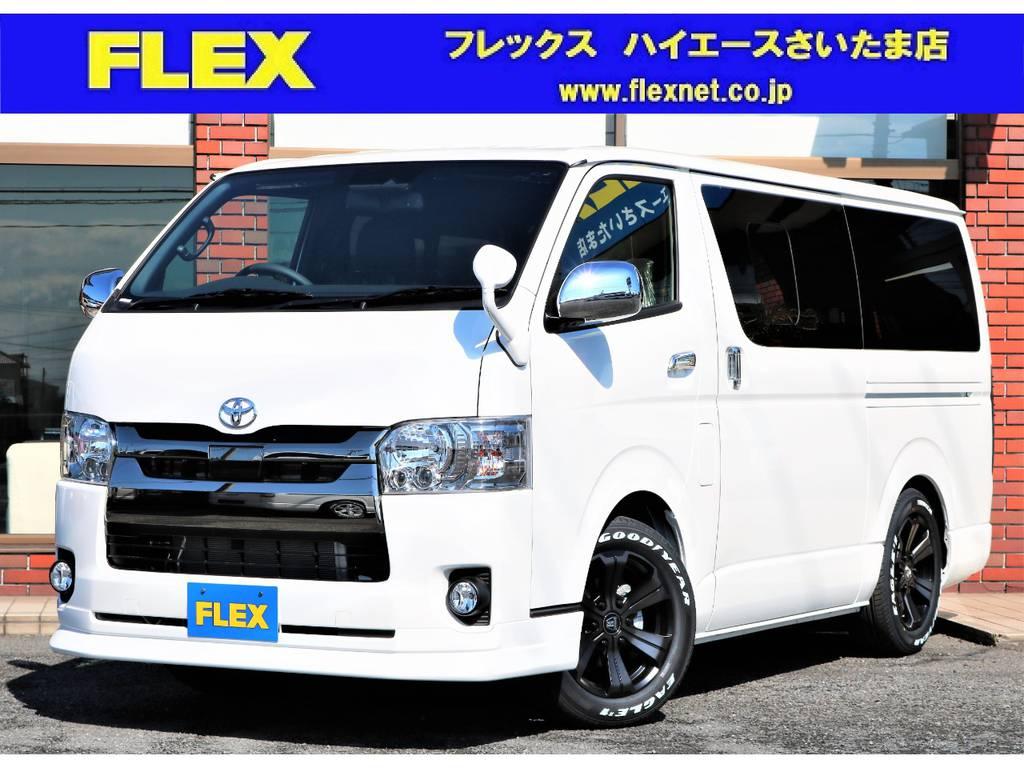 新車ハイエースバン S-GL ダークプライムⅡ入庫!