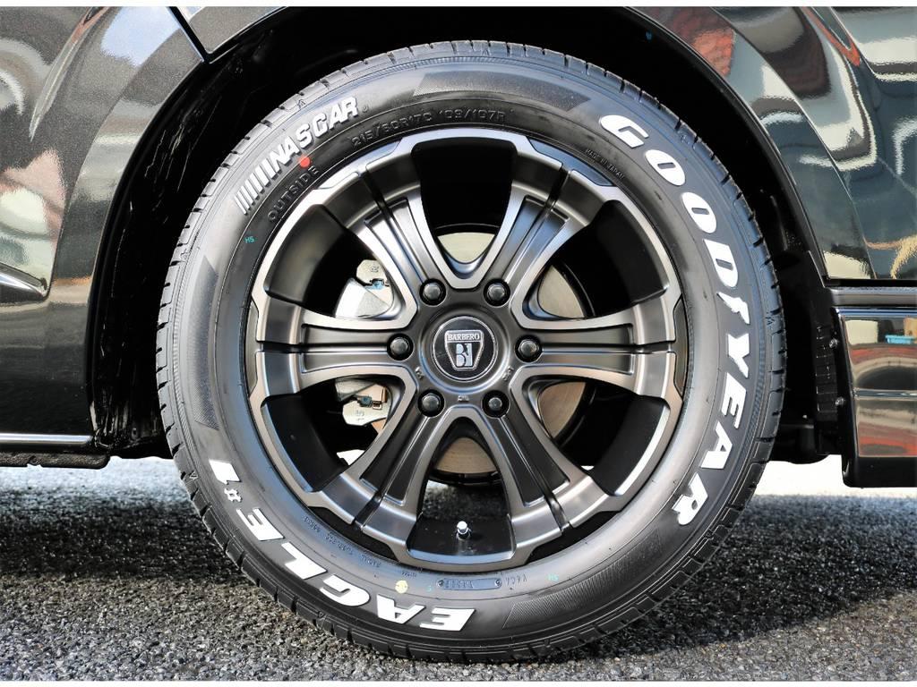 バルベロワイルドディープスオリジナルカラー17インチ!! | トヨタ ハイエースバン 2.8 スーパーGL 50TH アニバーサリー リミテッド ロングボディ ディーゼルターボ 50TH