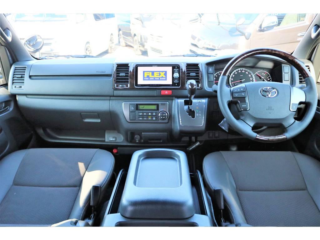 視野も広く視線も高いので運転も楽ですよ! | トヨタ ハイエースバン 2.8 スーパーGL 50TH アニバーサリー リミテッド ロングボディ ディーゼルターボ 50TH