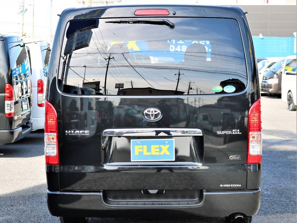 ハイエースのことならFLEXハイエースさいたま店へ!! | トヨタ ハイエースバン 2.8 スーパーGL 50TH アニバーサリー リミテッド ロングボディ ディーゼルターボ 50TH