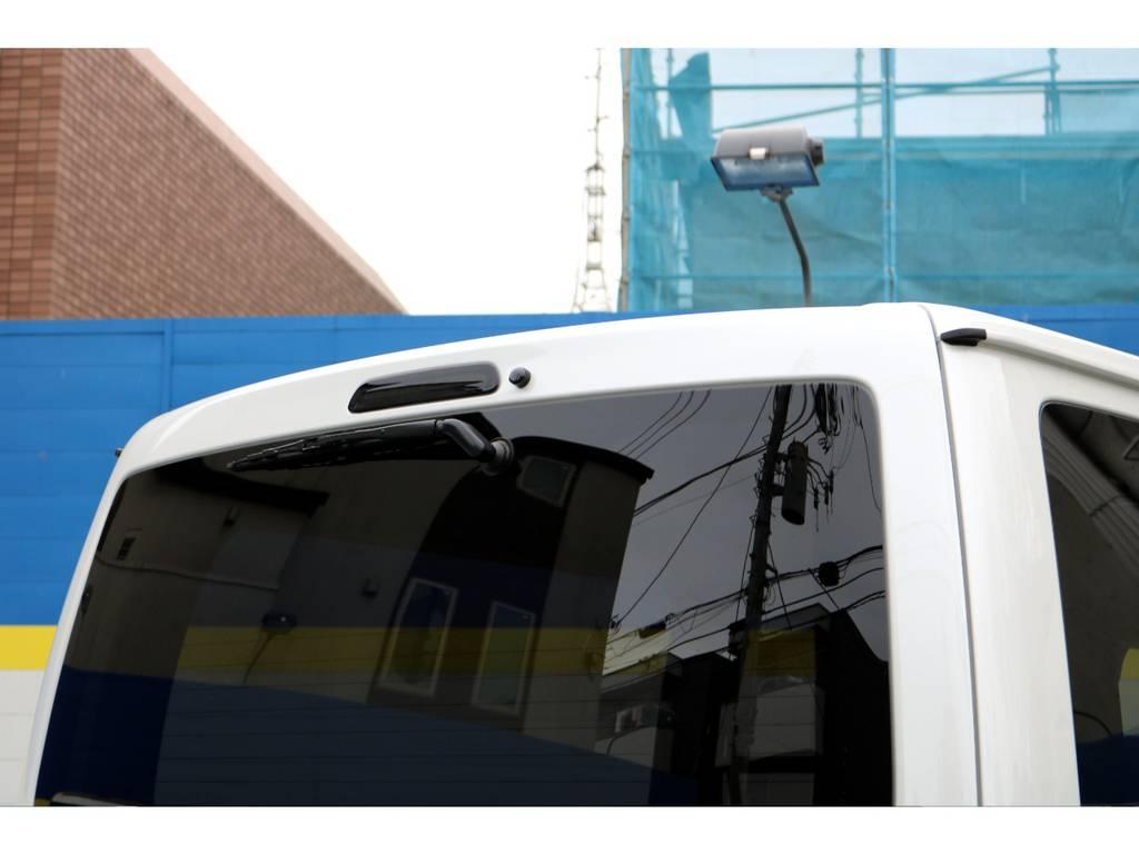 ヴァレンティーLEDハイマウントストップ! | トヨタ ハイエースバン 2.8 スーパーGL 50TH アニバーサリー リミテッド ロングボディ ディーゼルターボ 4WD 50THフルナビ&ベットPK