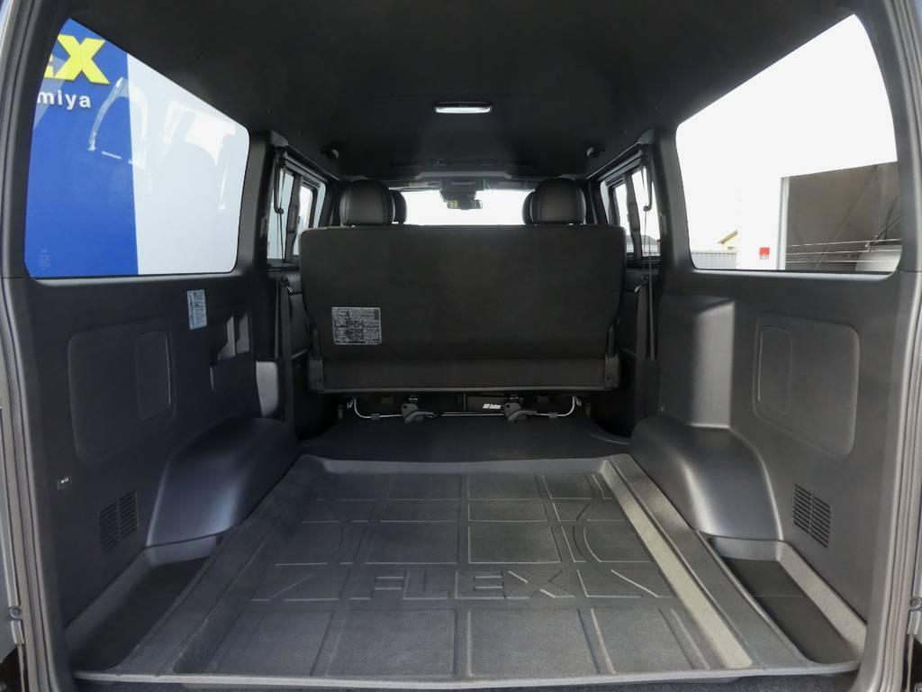ベットキットの追加カスタムもお任せ下さい!! | トヨタ ハイエースバン 2.8 スーパーGL ダークプライムⅡ ロングボディ ディーゼルターボ 4WD ワイルドフィールド