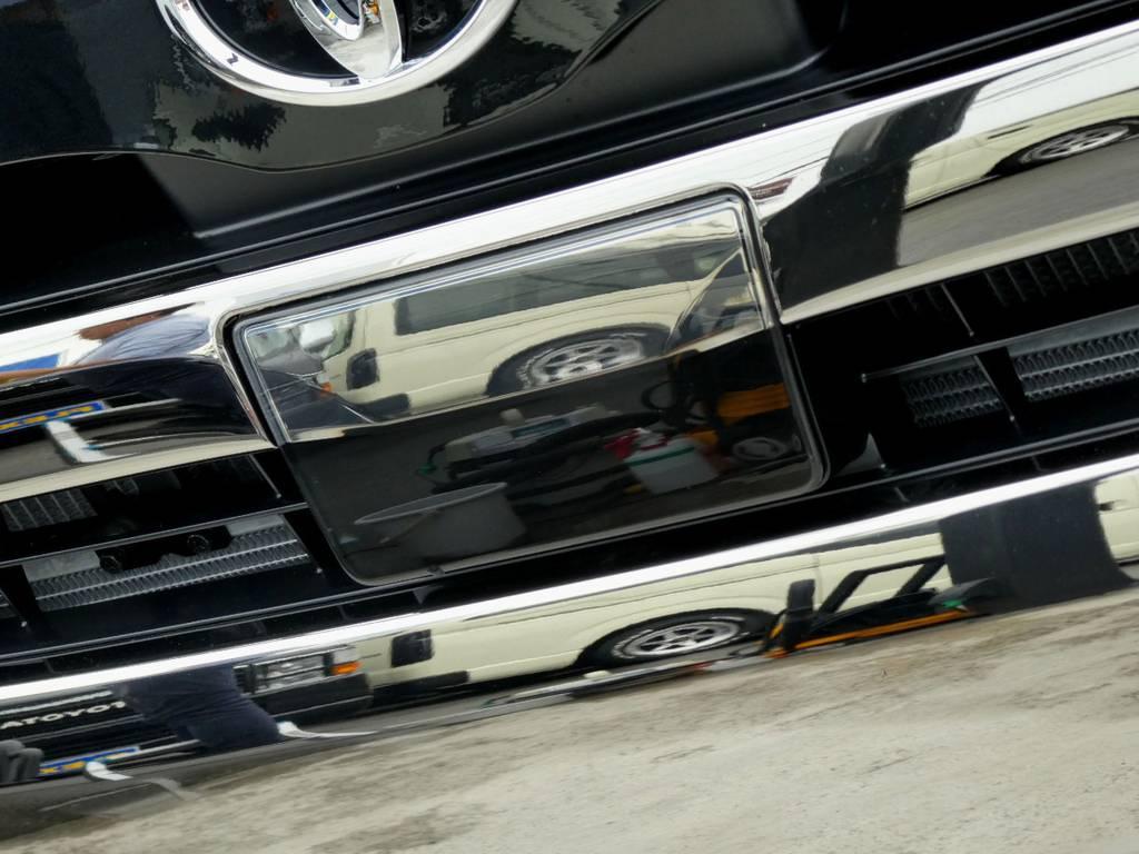 ミリ波レーダープリクラッシュセーフティーシステム搭載!! | トヨタ ハイエースバン 2.8 スーパーGL ダークプライムⅡ ロングボディ ディーゼルターボ 4WD ワイルドフィールド