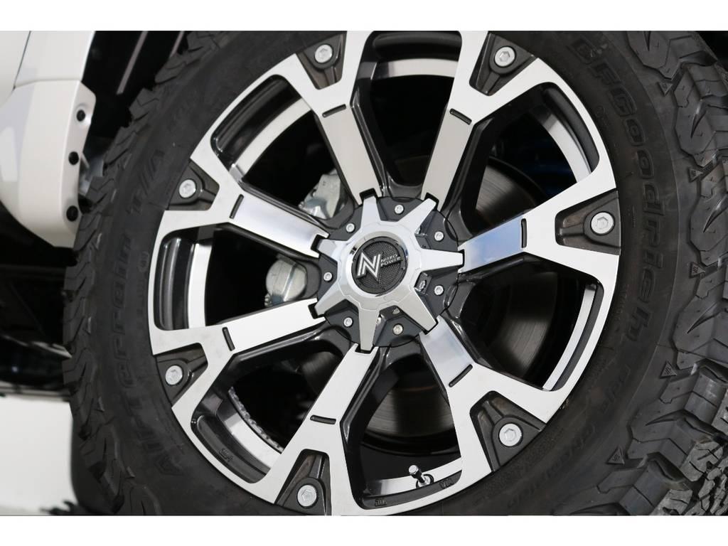 ナイトロパワー20インチAW   トヨタ ランドクルーザープラド 2.7 TX Lパッケージ 4WD 7人 新車未登録車 9インチナビ