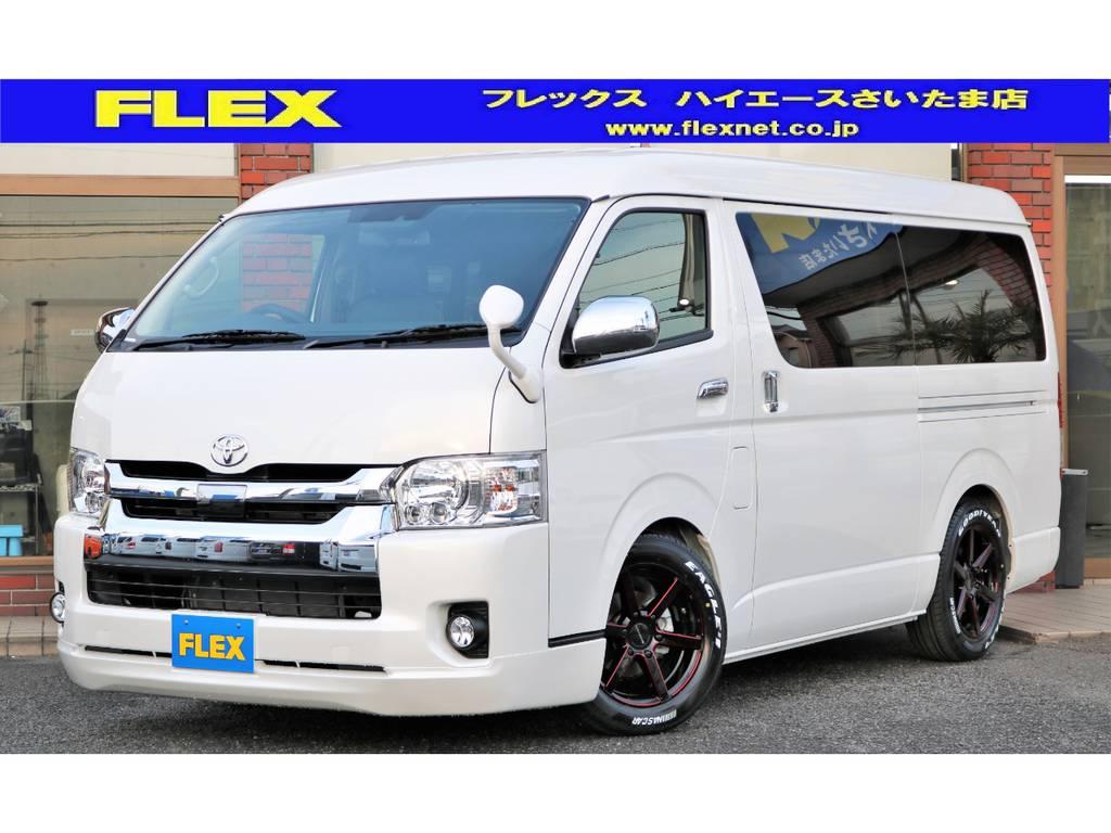 新車ハイエースワゴンGL 人気のアレンジR1入庫!