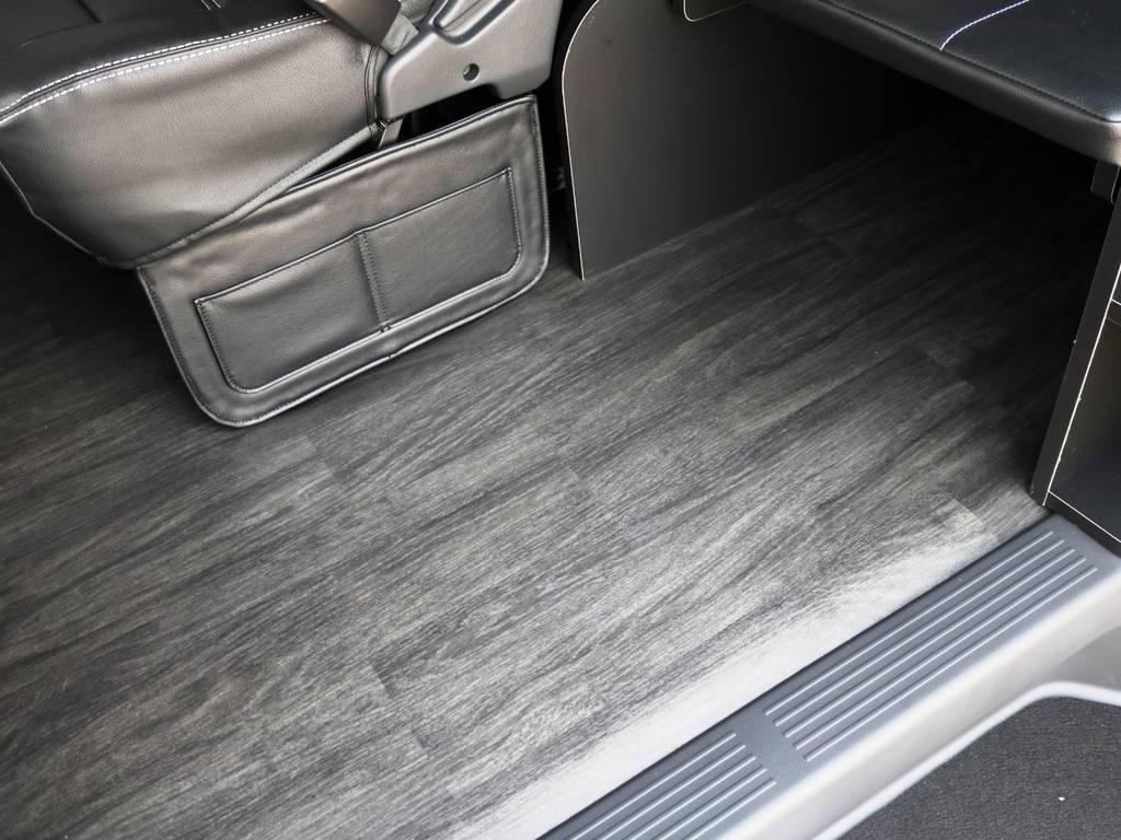 重歩行フロア施工済み! | トヨタ ハイエース 2.7 GL ロング ミドルルーフ TSS付 内装アレンジR1