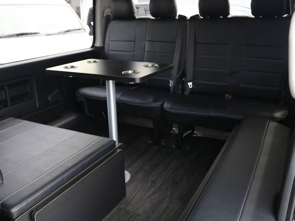 もちろんベッドキットは取り外し可能です! | トヨタ ハイエース 2.7 GL ロング ミドルルーフ 4WD アレンジR1 トリプルナビ