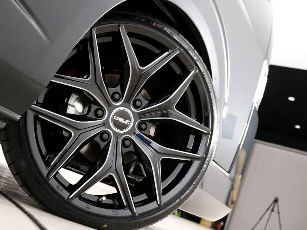 FLEXオリジナル Delf 01 20インチアルミホイール♪ | トヨタ ハイエース 2.7 GL ロング ファインテックツアラー