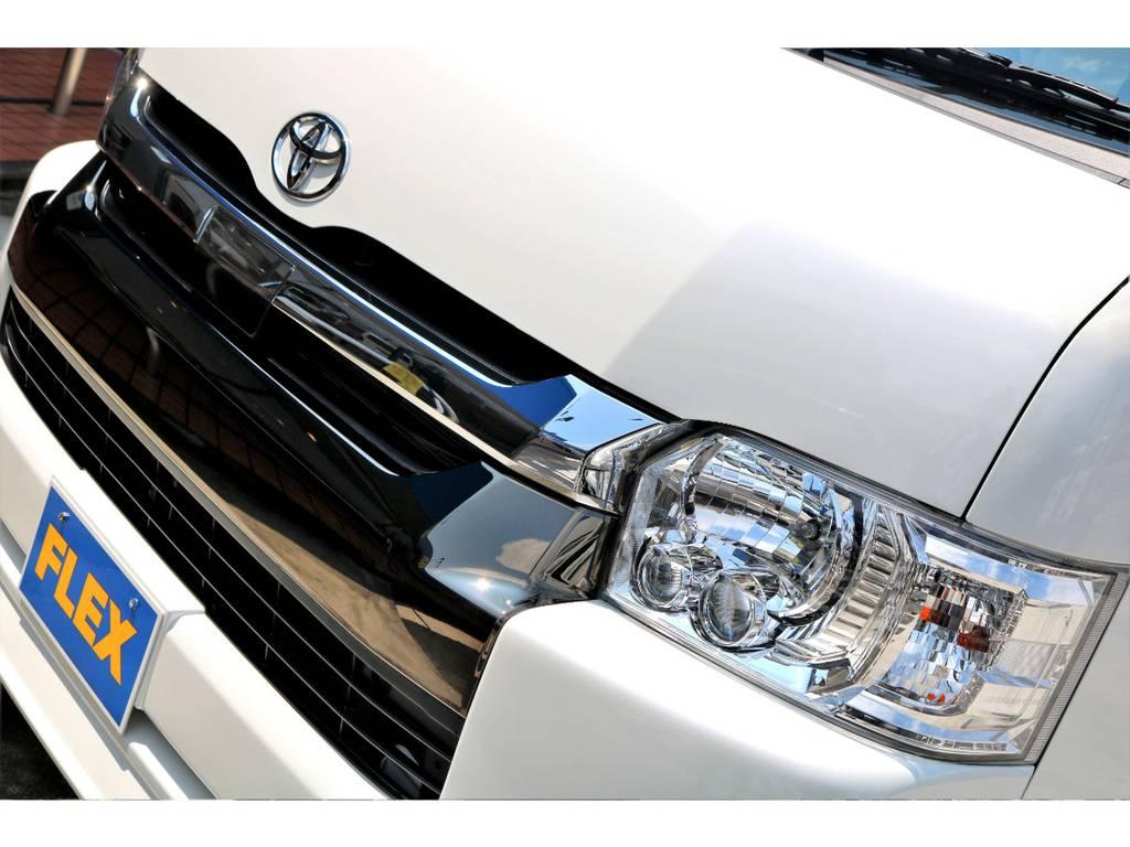 TSS(トヨタセーフティーセンス)付きのお車です!LEDヘッドランプも標準装備ですので、快適な夜間走行が可能です♪